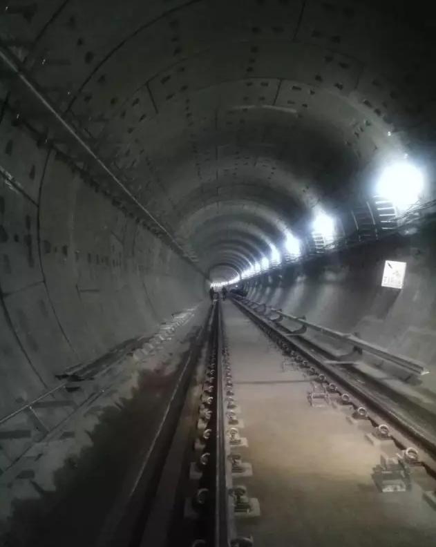 昆明地铁施工现场