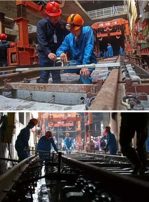 南昌地铁轨道焊接