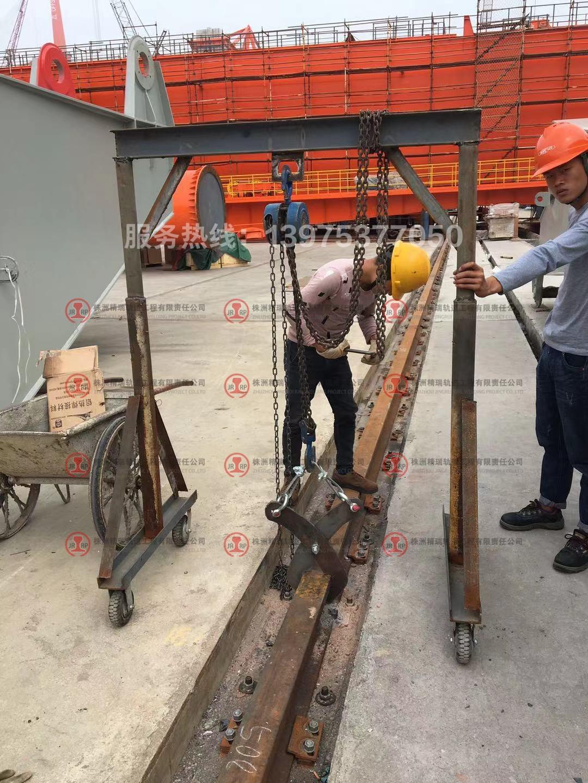华南船机轨道项目